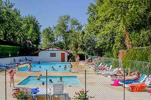 camping avec piscine Pays Basque