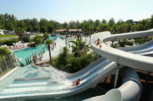 camping pays basque avec parc aquatique