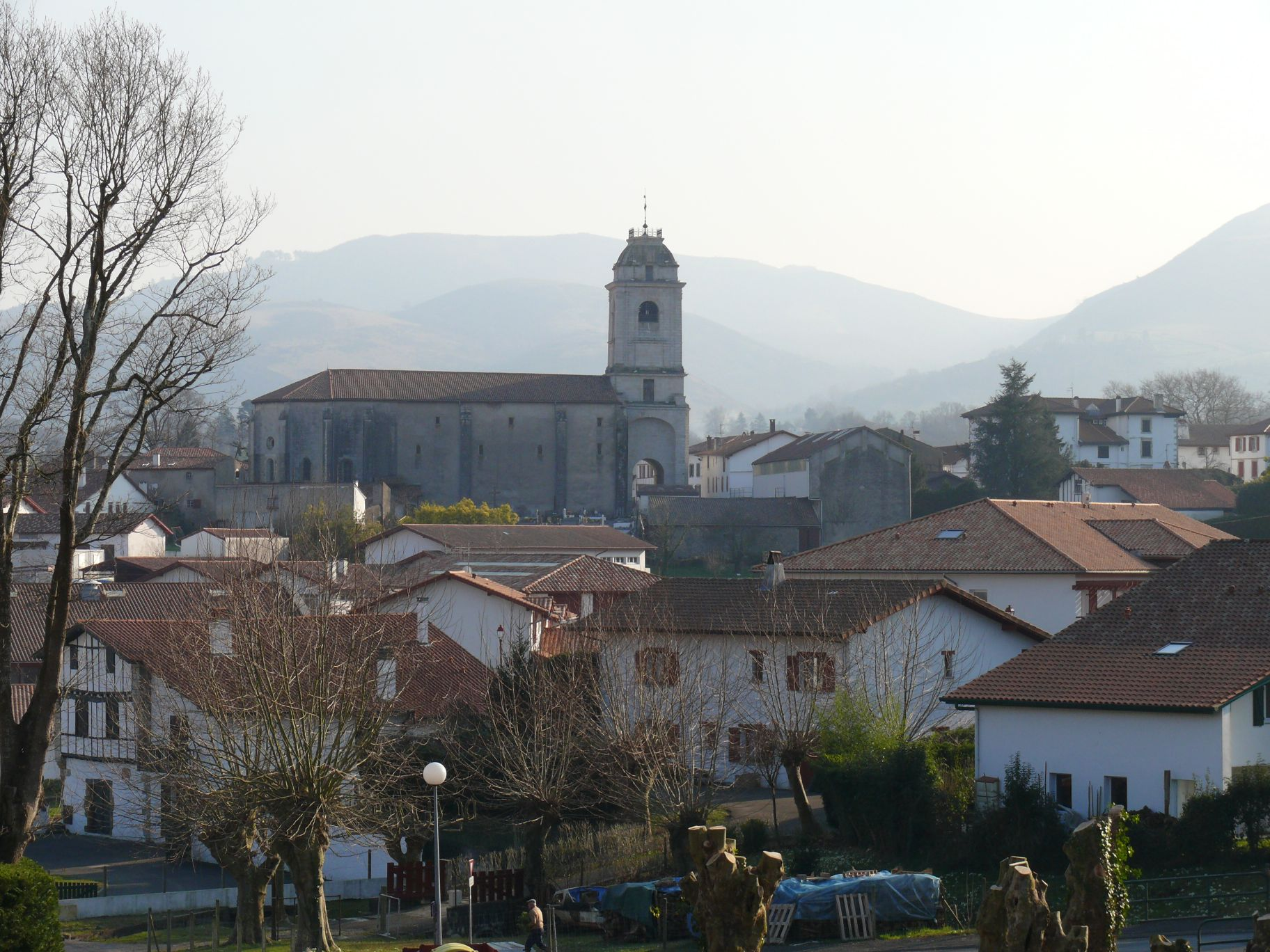 Camping Aire Ora ville d'Urrugne au Pays Basque