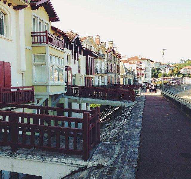 Bord de Plage de la ville de Saint Jean de Luz