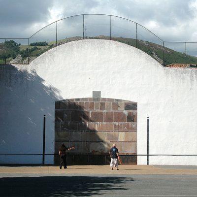 Le Fronton Pelote à Saint Martin d'Arrossa, au Pays Basque