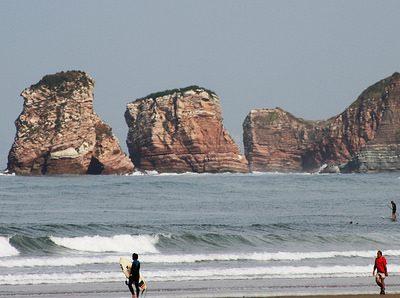 Camping des Deux Jumeaux,photo des deux Jumeaux à Hendaye de la plage, au Pays Basque